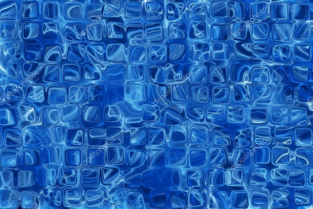 Blue Glass Pattern Texture Background Stock Photo