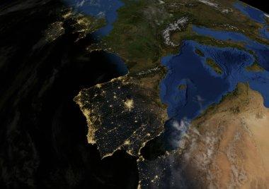 dawns in Spain