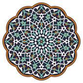 Arab körkörös minta