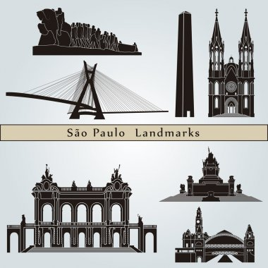 Sao Paulo landmarks and monuments