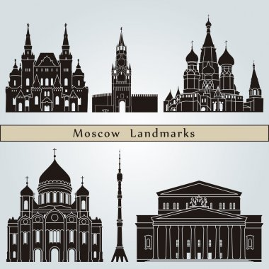 Moscow landmarks and monuments