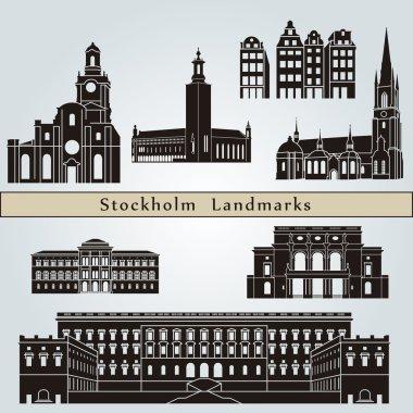 Stockholm landmarks and monuments