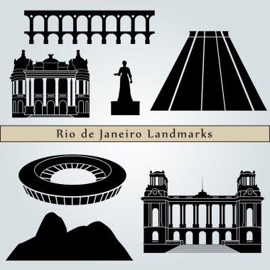 Rio de Janeiro landmarks and monuments