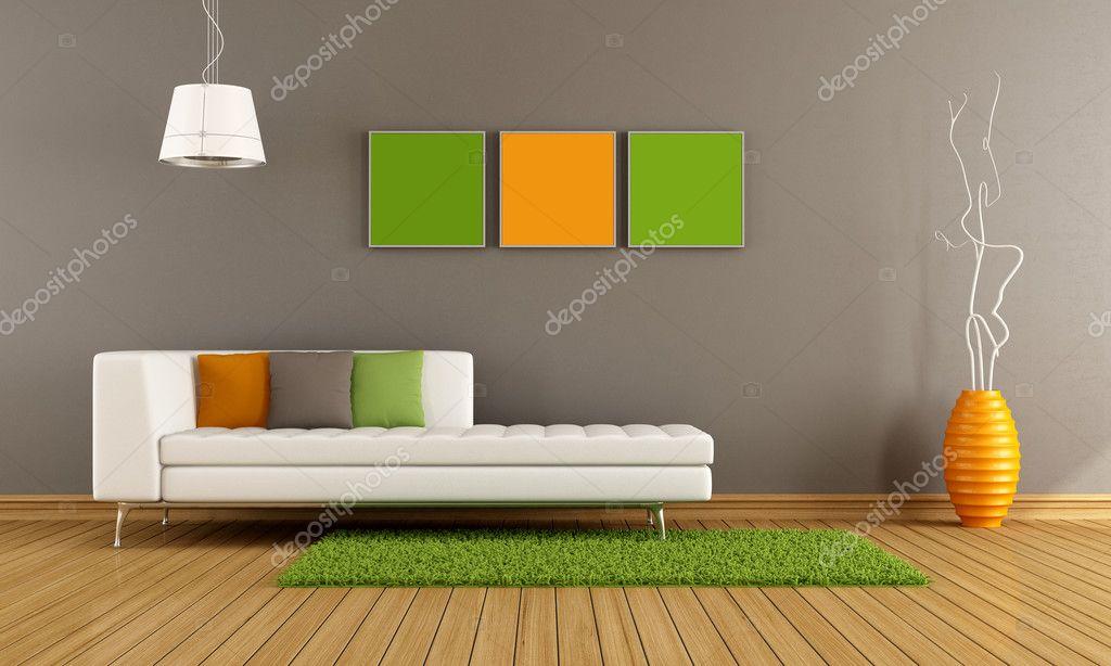 salon moderne coloré — Photographie archideaphoto © #23141182