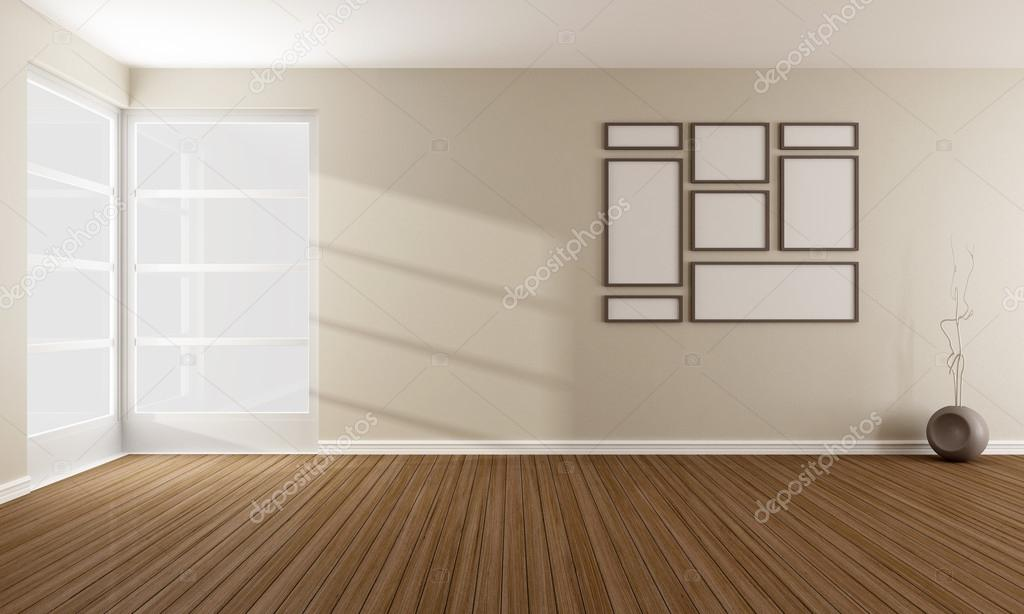 Empty Modern Living Room Stock Photo C Archideaphoto 39439099