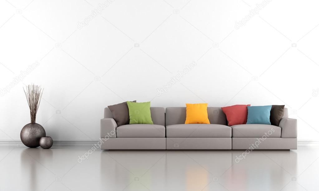 Soggiorno minimalista foto stock archideaphoto 40830685 for Soggiorno minimalista