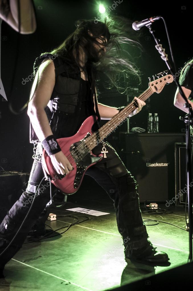 Iced Earth band - live show