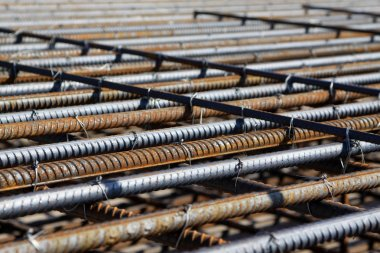 steel bars construction materials