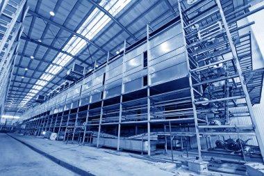 PVC gloves production line extension project site