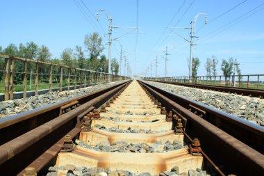 railroad, railway tracks