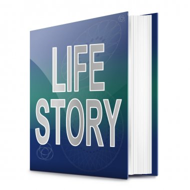 Life story concept.