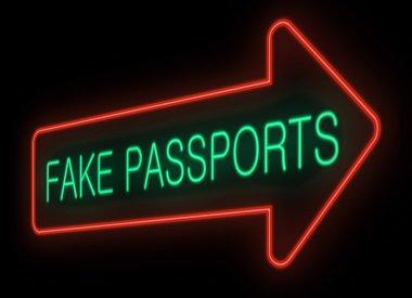 Fake passports.
