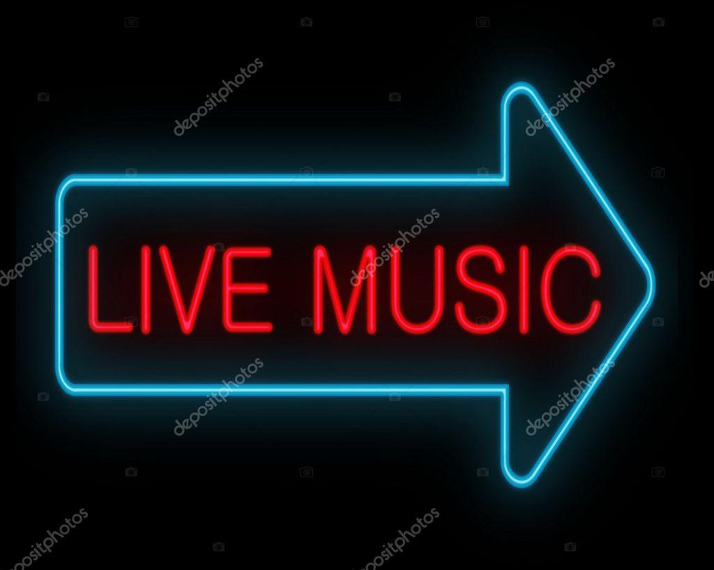 Live music concept.