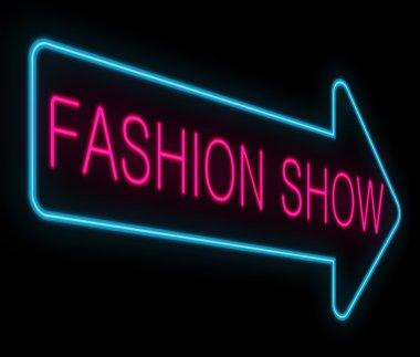 Fashion show concept.