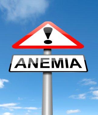Anemia concept.