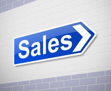 Sales concept.