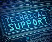 Technische Support-Konzept.