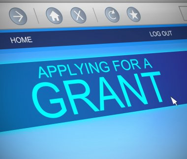 Grants concept.