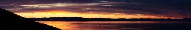 Sunset on coast