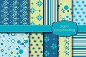 set carta scrapbooking digitale
