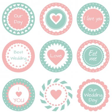 Tags for wedding