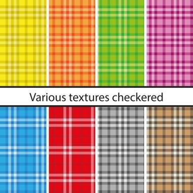 Plaid pattern set