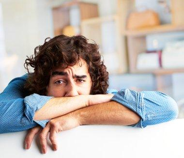 Portrait Of A Depressed Man