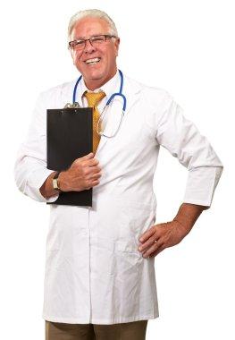 Portrait Of A Senior Doctor
