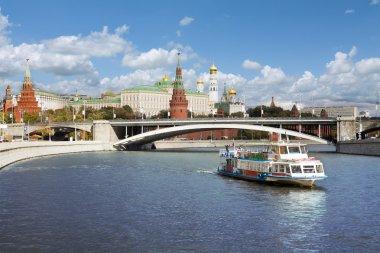 Kremlin bankment, Moscow