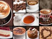 kaffe te choklad