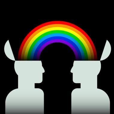 Rainbow connecting