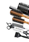 Fotografie scissors and combs
