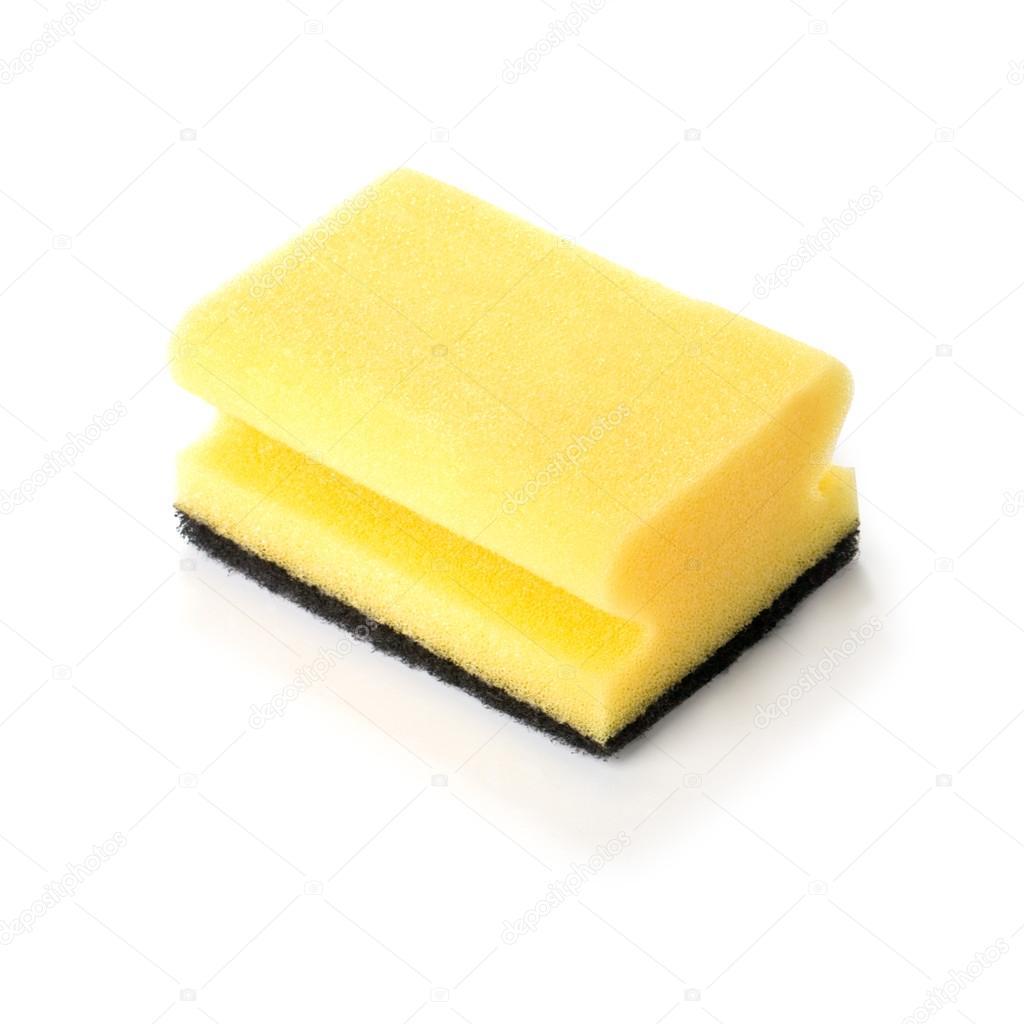 Spugna gialla di uso domestico foto stock for Piani di ascensore domestico