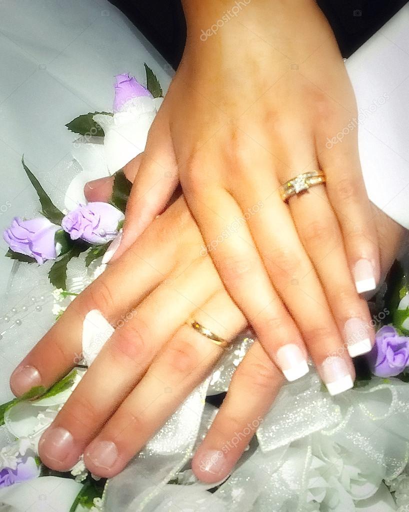 Wedding Ring Hands Photos