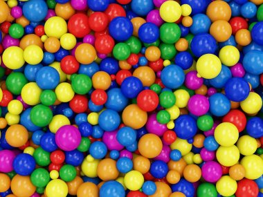 Heap of Colorful Balls