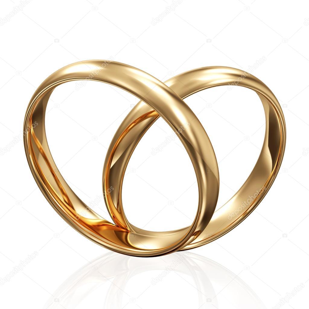 Goldene Hochzeit Ringe Stockfoto C Ras Slava 37446215