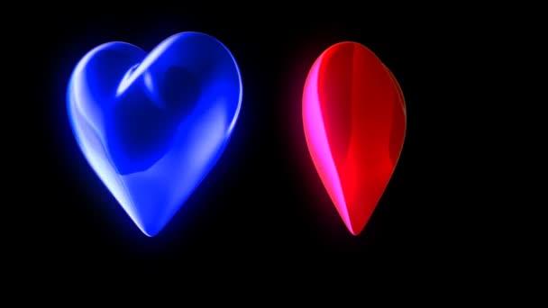 Piros végén kék szívek, tánc