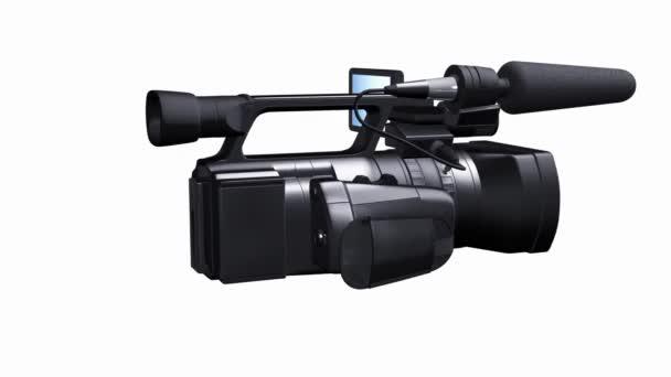 profesionální videokamery