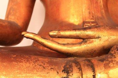 Image of Buddha Hand in Wat Pho