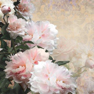 floral design peonies