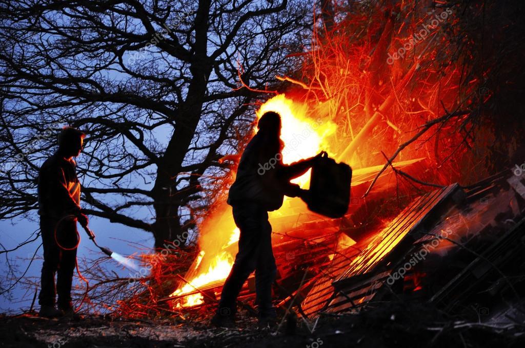 放火癖 — ストック写真 © defoto...