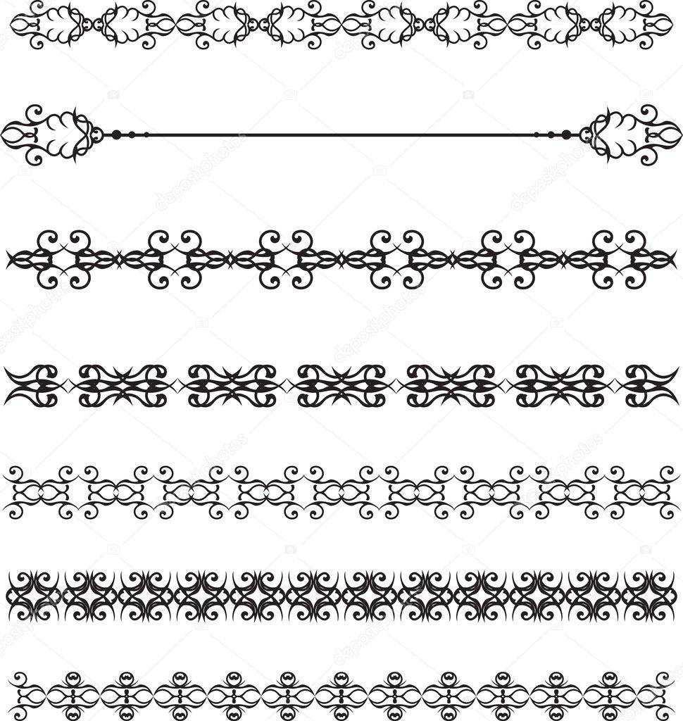 Rahmen-Grafik — Stockvektor © panambapro #39740321