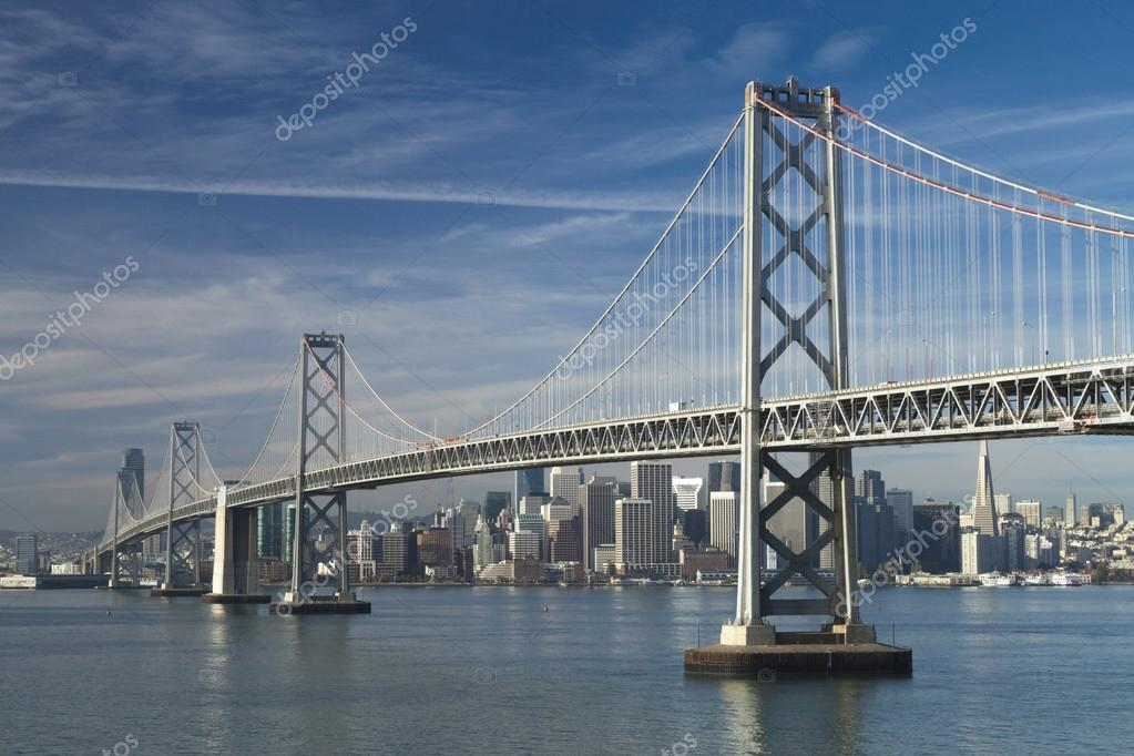 SAN FRANCISCO - NOVEMBER 2012: The Bay Bridge, November 2nd, 201