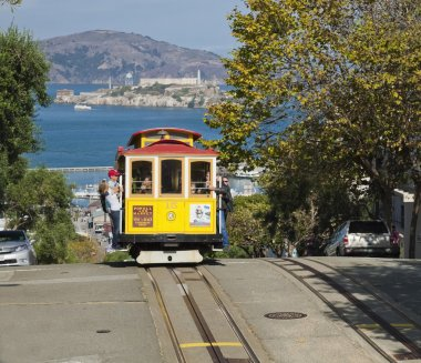 SAN FRANCISCO - NOVEMBER 2012: The Cable car tram, November 2nd,