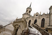 Kostel vladimir ikony Matky Boží v bykovo, Moskva region.russia