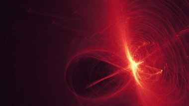 Chaotic red abstract background