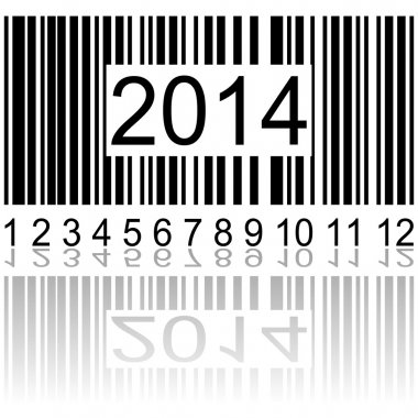 2014 on the barcode