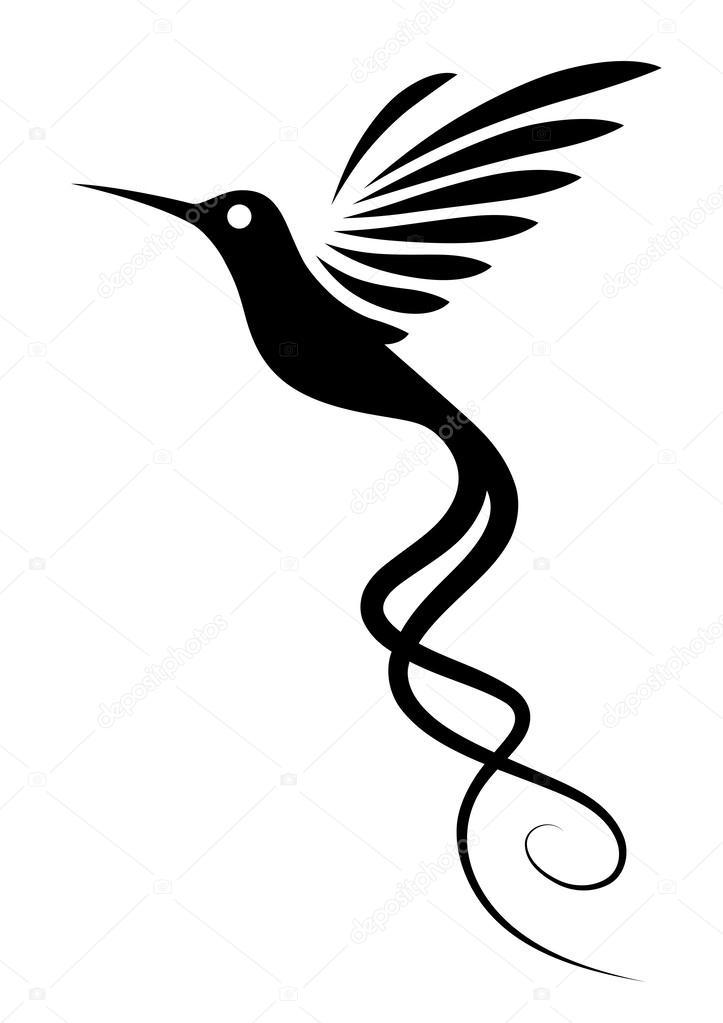 Tatuaż Koliber Grafika Wektorowa Iatsun 24326137