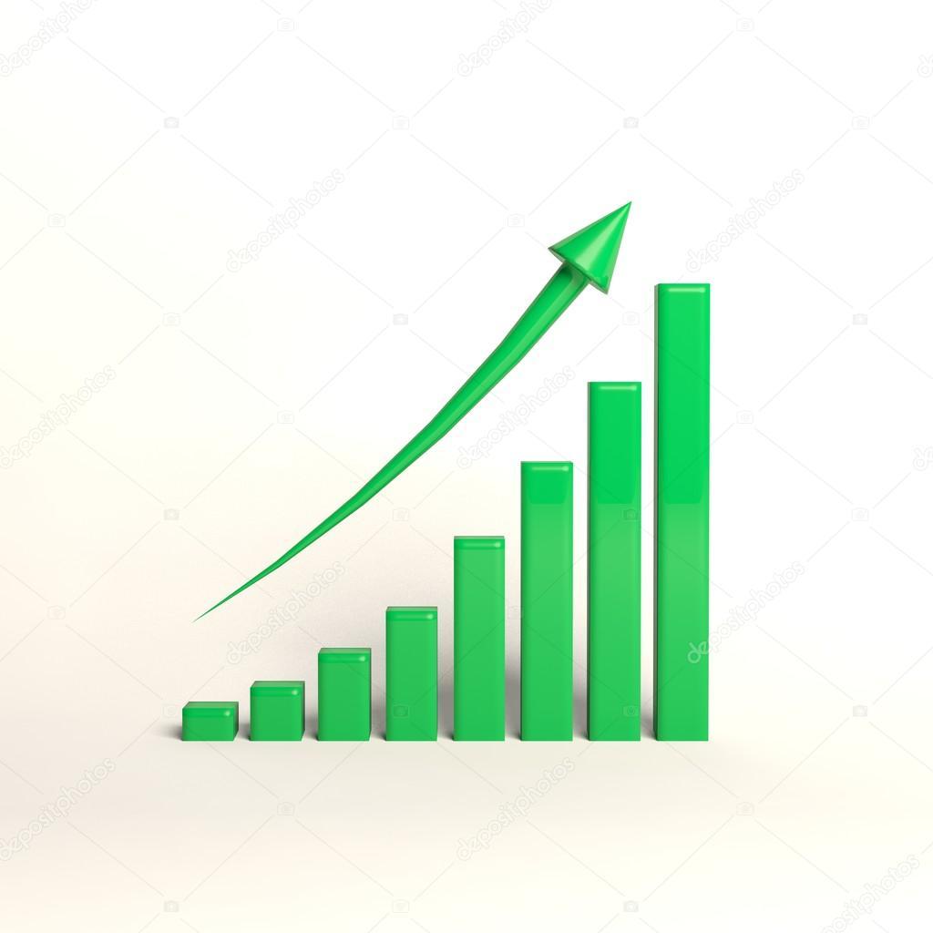 Chart Schedule Money Market Exchange Growth Stock Photo
