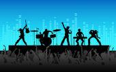 Photo Rock Band Performance